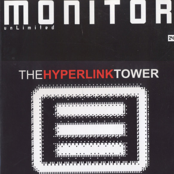 """Monitor  """"Hyperlink Tower"""" No.24 2003 Moscow"""