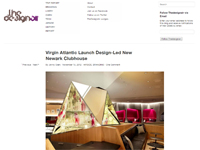 "Design Air  ""Virgin Atlantic Launch Design-Led New Newark Clubhouse"" November 15, 2012"