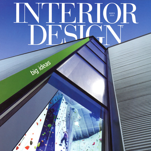 "Interior Design Magazine  ""Recreation Inspiration""  March 2014 USA"
