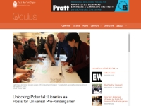 "Oculus   ""Unlocking Potential: Libraries as Hosts for Universal Pre-Kindergarten"" May, 2014"