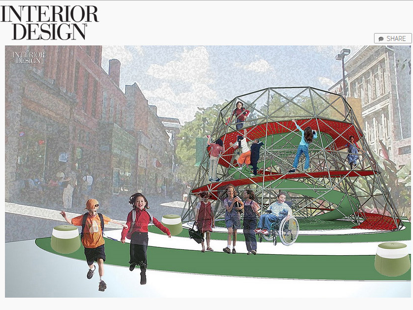 "Interior Design Magazine  ""Big Ideas: Community Spirit"" March 27, 2014"
