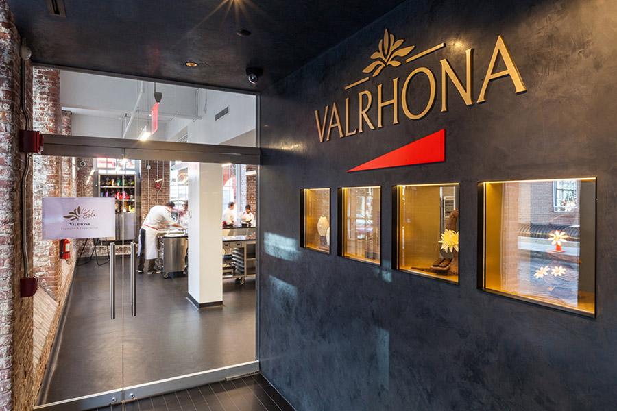 Valrhona Entrance