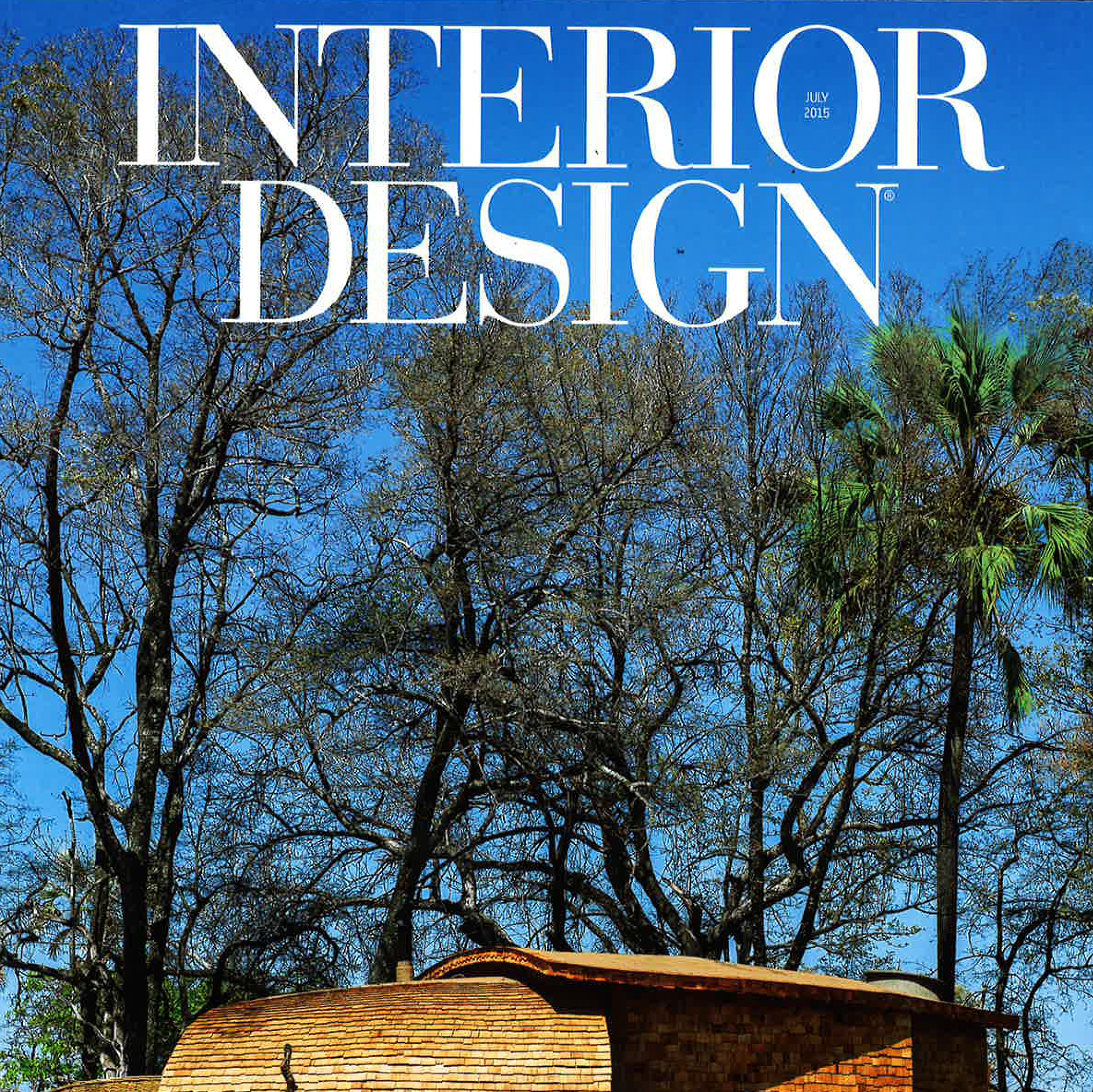 "Interior Design Magazine  ""Frequent Fliers"" July 2015 USA"