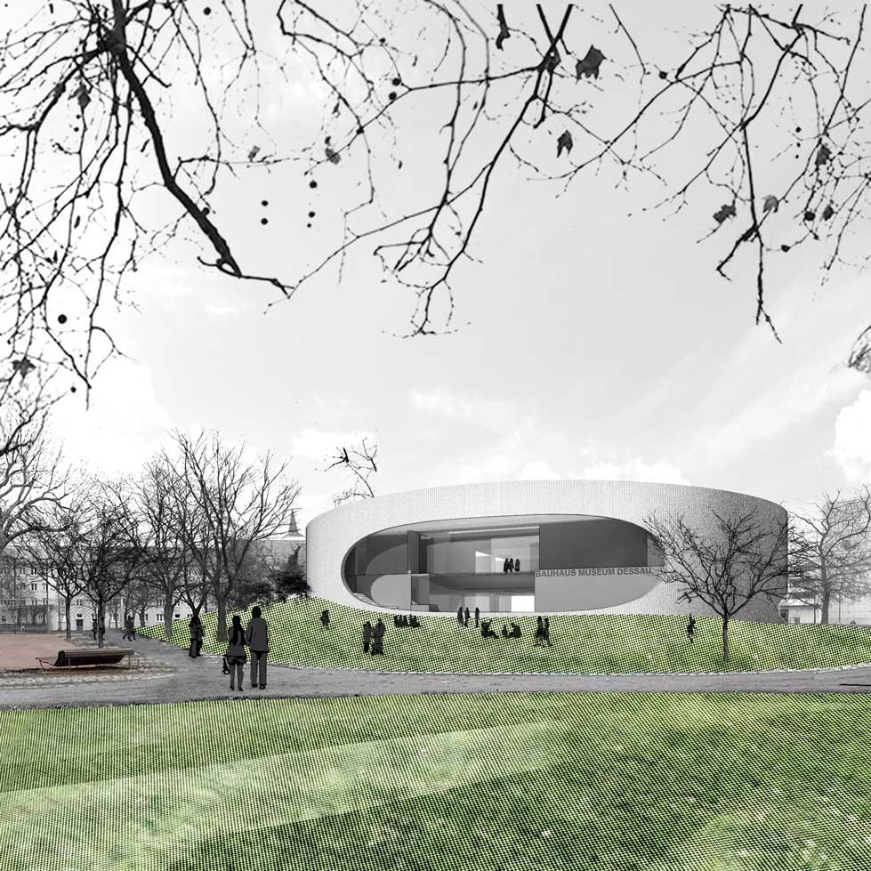 Bauhaus Museum Dessau  Dessau, Germany