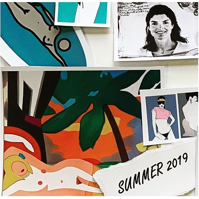#sundayfunday 📸 . . On our moodboard Alex Katz © 2019 Alex Katz / Licensed by VAGA at Artists Rights Society (ARS), NY. Peter Beard © 2019 Peter Beard / Licensed by Artists Rights Society (ARS), New York. Julian Opie © 2019 Julian Opie, courtesy (gallery) / Artists Rights Society (ARS), New York / DACS, London. Louise Dahl-Wolfe © 2019  Center for Creative Photography, Arizona Board of Regents / Artists Rights Society (ARS), New York. Patrick Nagel © 2019 Estate of Patrick Nagel / Artists Rights Society (ARS), New York. Willy Maywald / Artists Rights Society (ARS), New York / ADAGP, Paris. Pablo Picasso © Estate of Pablo Picasso / Artists Rights Society (ARS), New York. Roger Broders © 2019 Artists Rights Society (ARS), New York / ADAGP, Paris. Patrick Caulfield © 2019 Artists Rights Society (ARS), New York / DACS, London . . . . .  #summerstyle #summergame #mood #moodboard #summervibes #summer #beachvibes #summer2019 #weekendvibes #sunshine #letthesunshinein #summertime #modernart #contemporaryart #picasso #alexkatz #fashionphotography #waynethiebaud #painting #photography #swimming #julianopie #tomwesselman #posterart #vacation #arsmemberartist