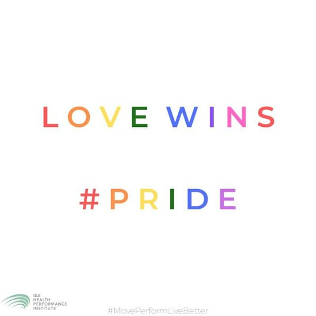 Happy Pride!!⠀ .⠀ .⠀ .⠀ #pride #lovewins #loveislove #hpifitfam #moveperformlivebetter