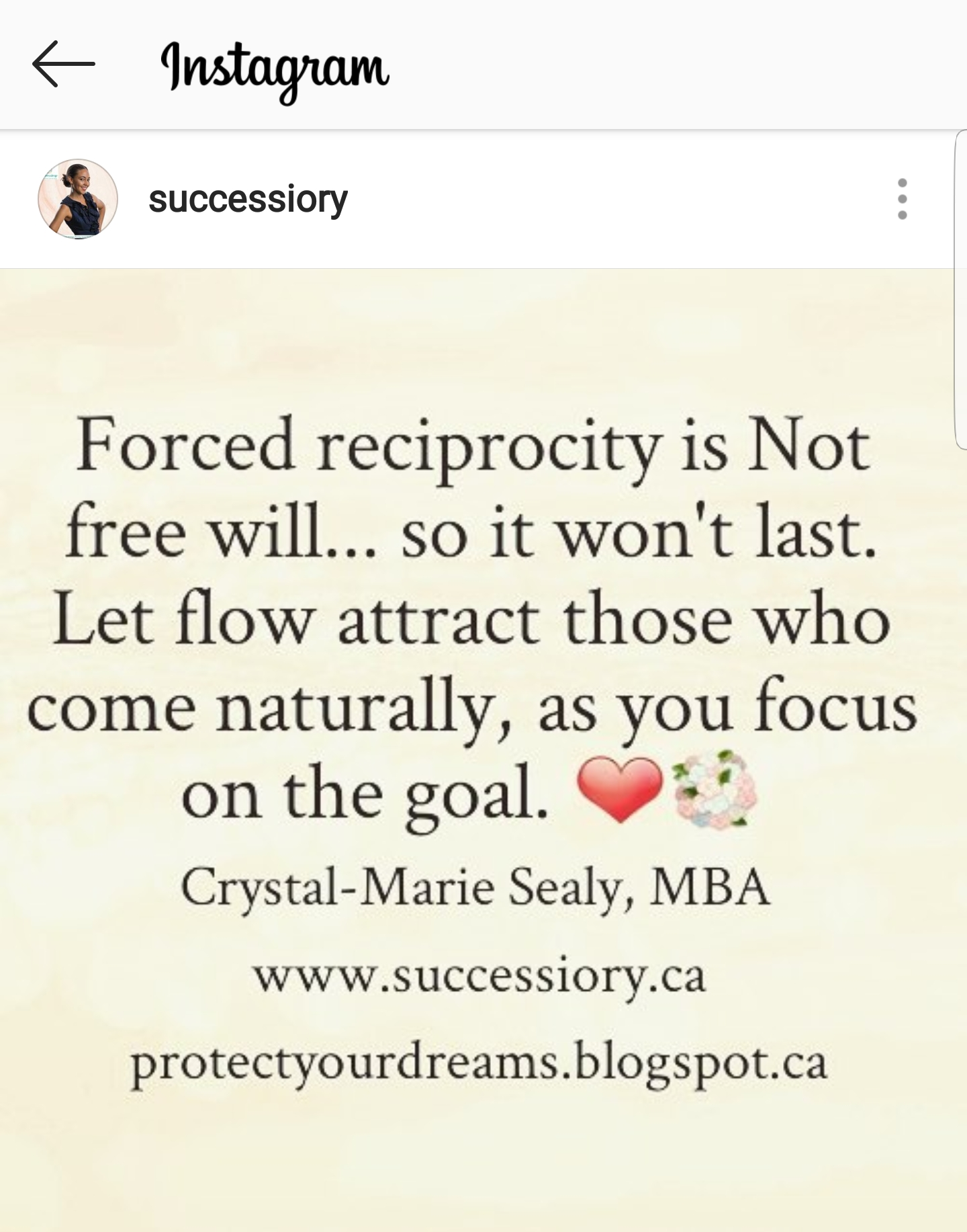 Forced reciprocity is Not free will. @Successiory
