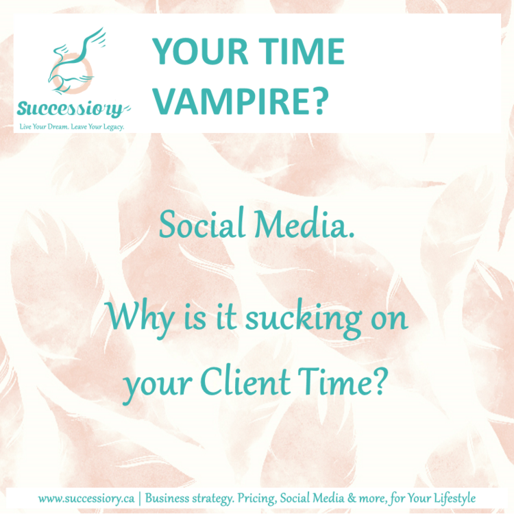 Social Media. Why is it sucking on your Client Time?