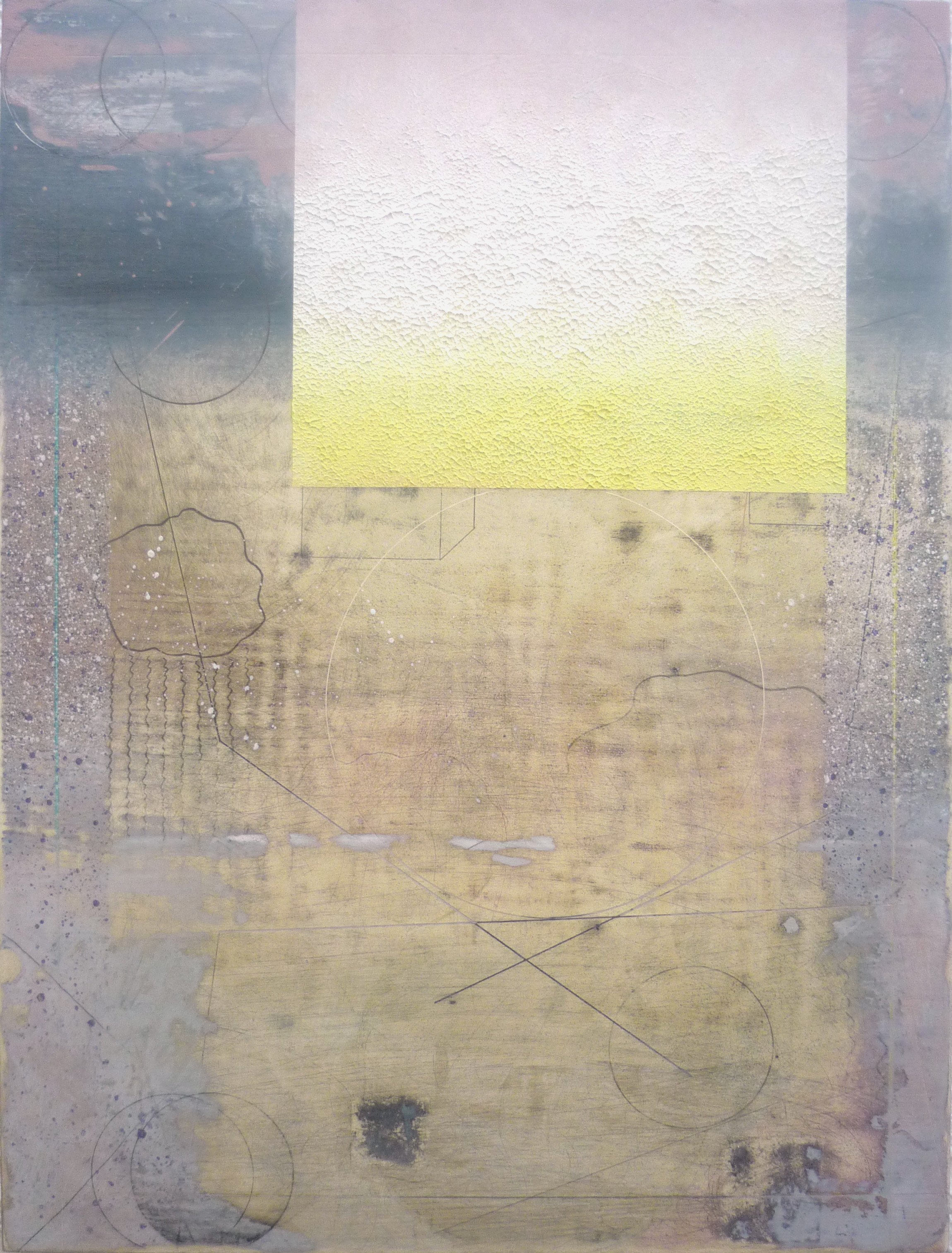 Soon, 2013, Oil and pencil on panel, 53 x 40 cm