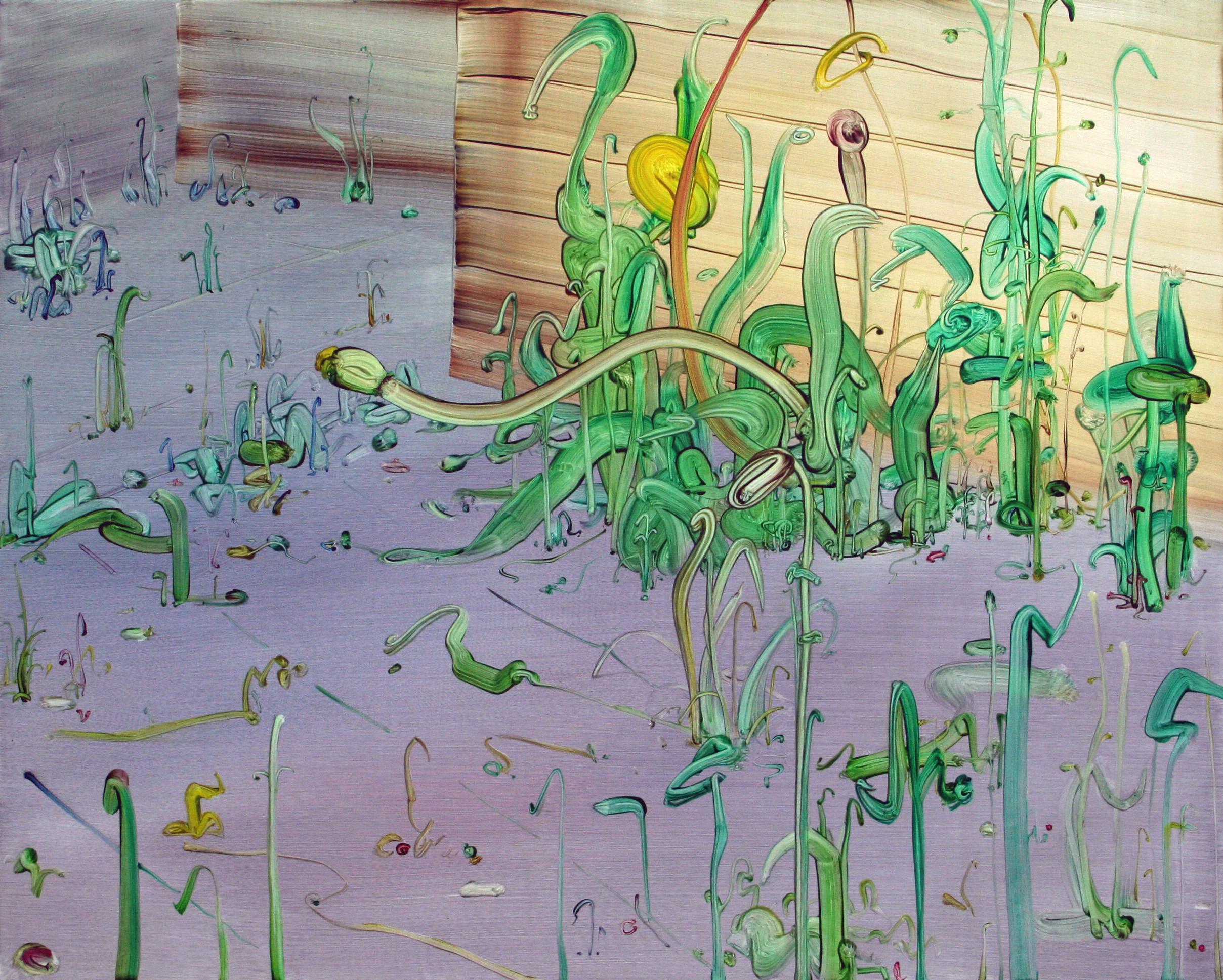 Taraxacum,2013, oil on canvas,80 x 100 cm
