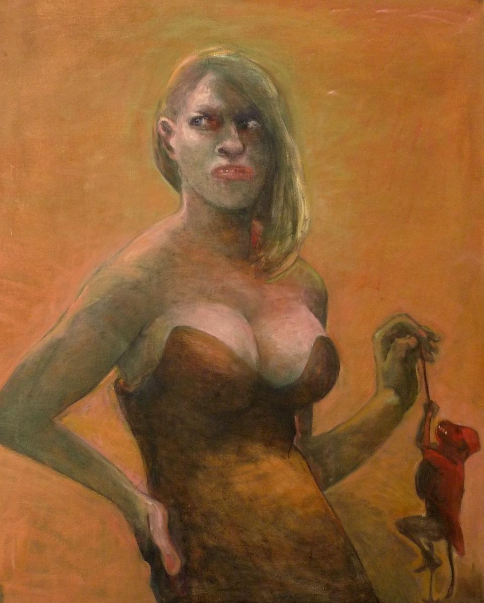 Marcelle Hanselaar, Sweet Nothings, 2016, oil on canvas, 90 x 72 cm