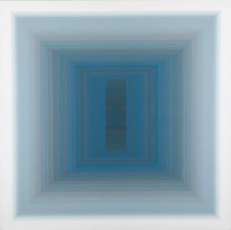 Aduton CI, 1991, oil on canvas, 153 x 153 cm