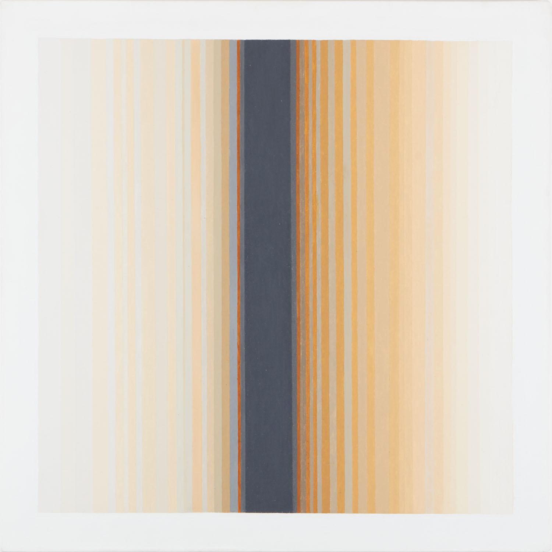 Adytum II, 1970, oil on canvas, 92 x 92 cm