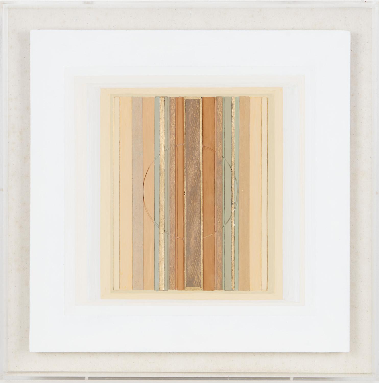 Square Refief XLV, 2011, perspex, 36 x 36 cm