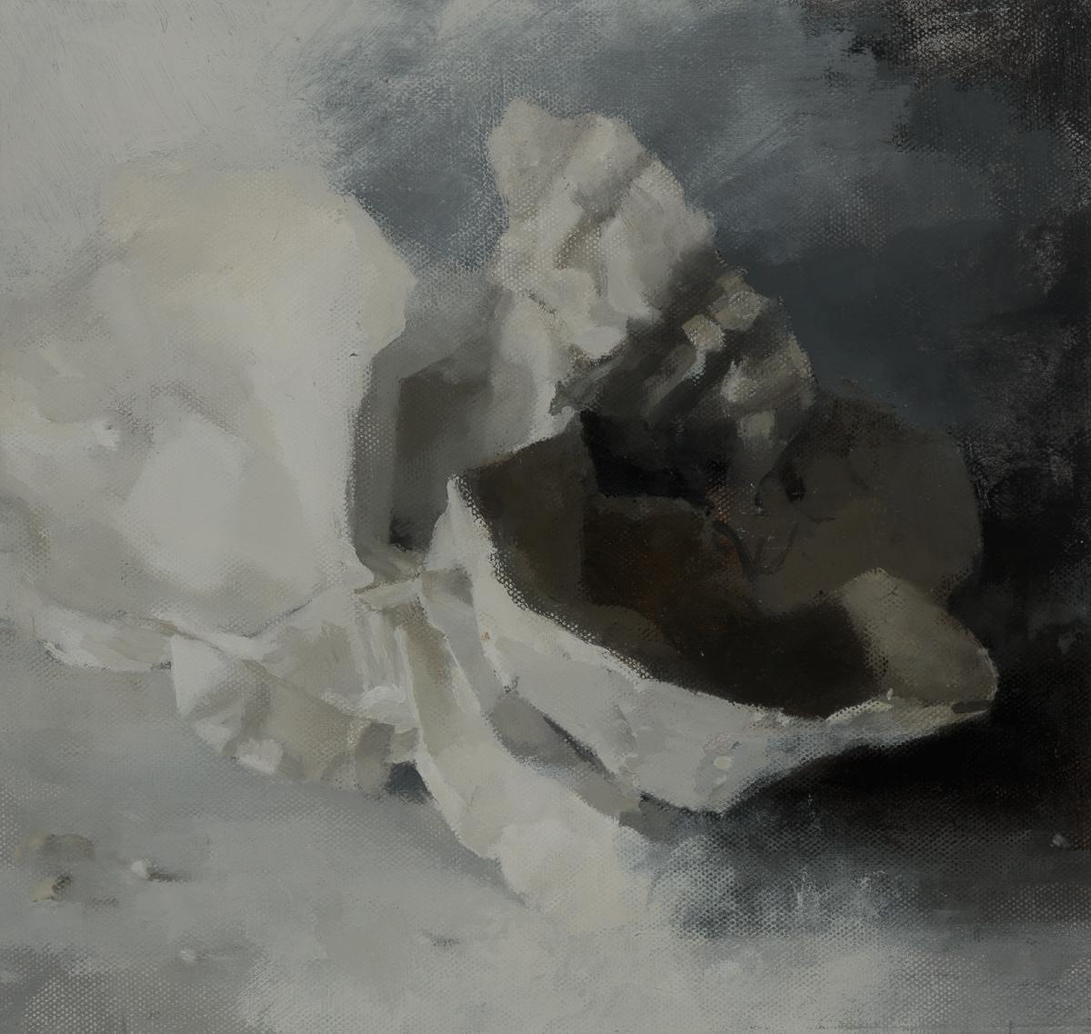 CARR Col de Vence, 2014, oil on canvas laid on board, 26.7 x 25.4 cm.jpg