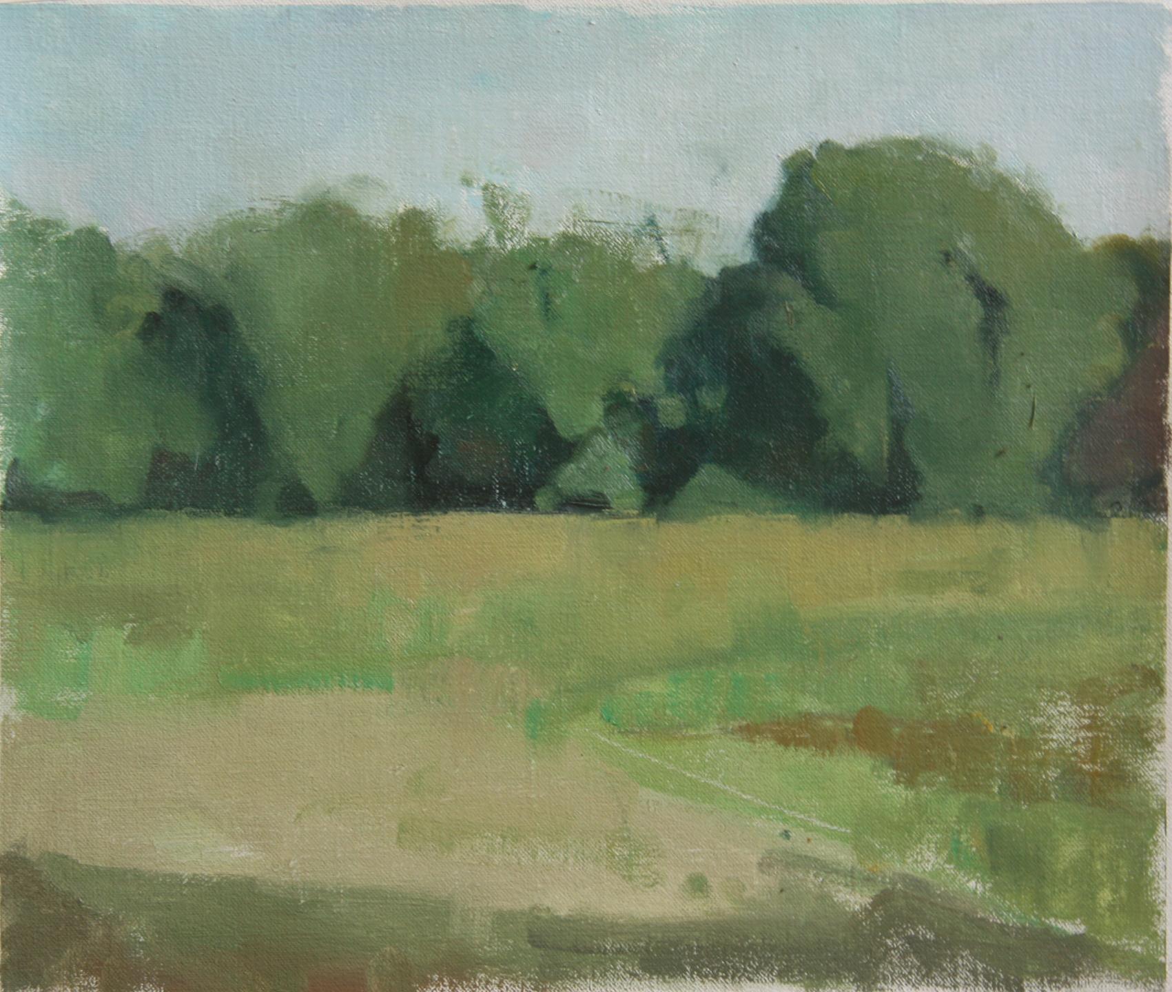 Untitled (Bel Air), 2016, Oil on Linen, 35.5 x 30 cm