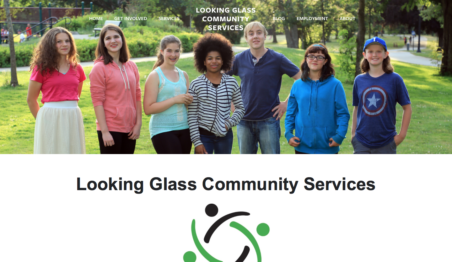 Click to visit Looking Glass Community Services
