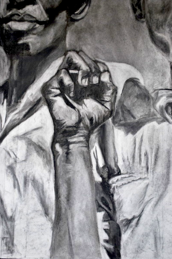 (detail)  charcoal  2010