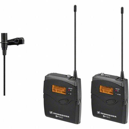 Sennheiser Wireless Mic System - this is a very intuitive system to use and is the main system that Jason and his crew uses.  Easy to switch channels, stellar audio results, and great range.  It's more expensive than the Rode system but it does have options and frills to it.