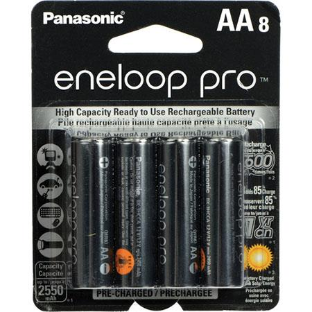 Eneloop Pro AA rechargeable batteries-  these are one of two brands that Jason recommends for photographer to use. The Eneloop Pros along with the Powerex Medion batteries are the longest lasting, highest performance rechargeable batteries he has ever used and is widely agreed upon in the photography industry. This is especially true for things like speedlights where batteries can drain quickly. These will charge in the Powerex battery charger that Jason recommends.