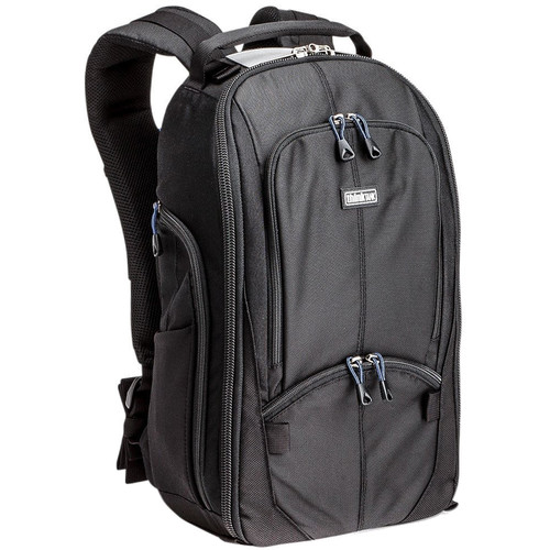 Think Tank Photo StreetWalker V1 Backpack  - this backpack goes with Jason everywhere! It carries 4-5 of his camera bodies along with a few lenses. This bag is extremely durable and has been with Jason for many years.