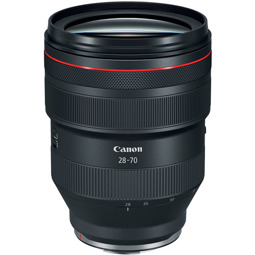 *Canon RF 28-70mm f/2-  Jason absolutely loves this lens. This zoom lens is extremely versatile and can be used in a variety of circumstances.