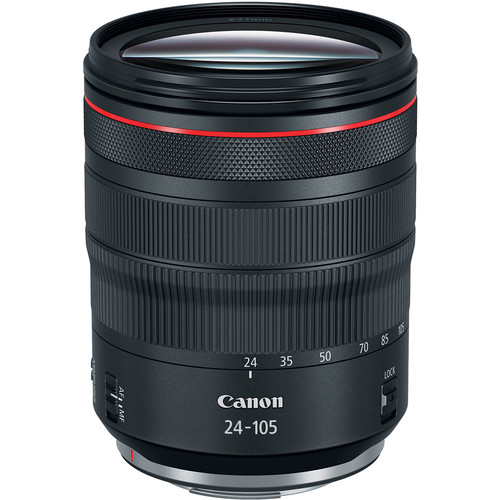 *Canon RF 24-105mm-  This is a great lens for full frame cameras. It has smooth focus and constant aperture. It is an awesome lens.