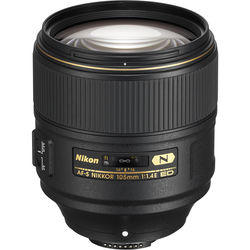 *Nikon AF-S NIKKOR 105mm f/1.4E ED Lens- This is a really nice lens.