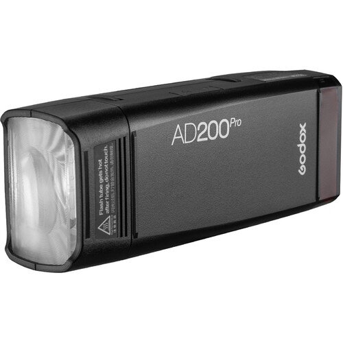 Godox AD200 Pro  - this powerful speedlight is a portable option. While it can be used as a key light, it is a great light that can be used for fill and rim light purposes.