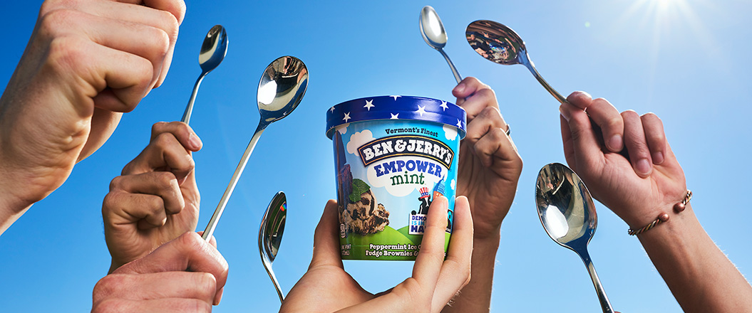 Ben & Jerry's Takes Action for Change - WhyWhisper Collective