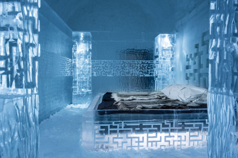 What It's Really Like to Sleep in an  Ice Hotel  - Town & Country