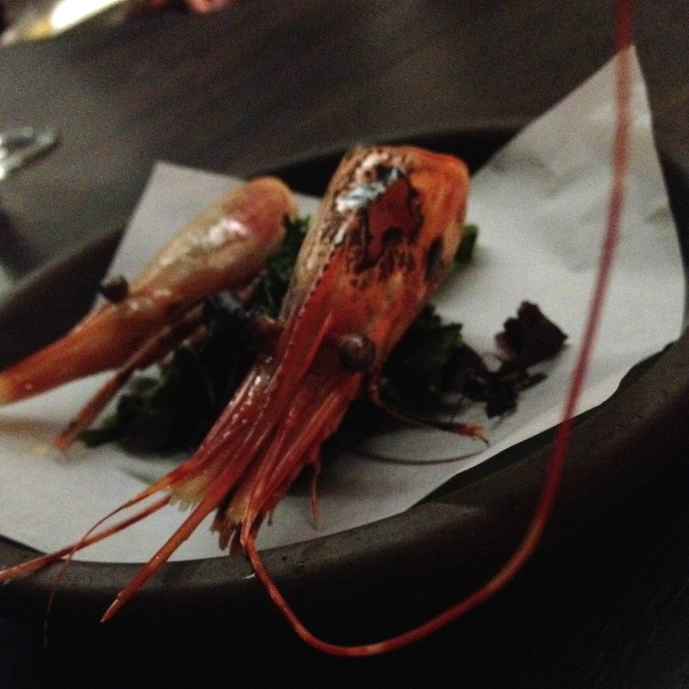 You gotta love a chef with a sense of humor - at Nashville's Catbird Seat