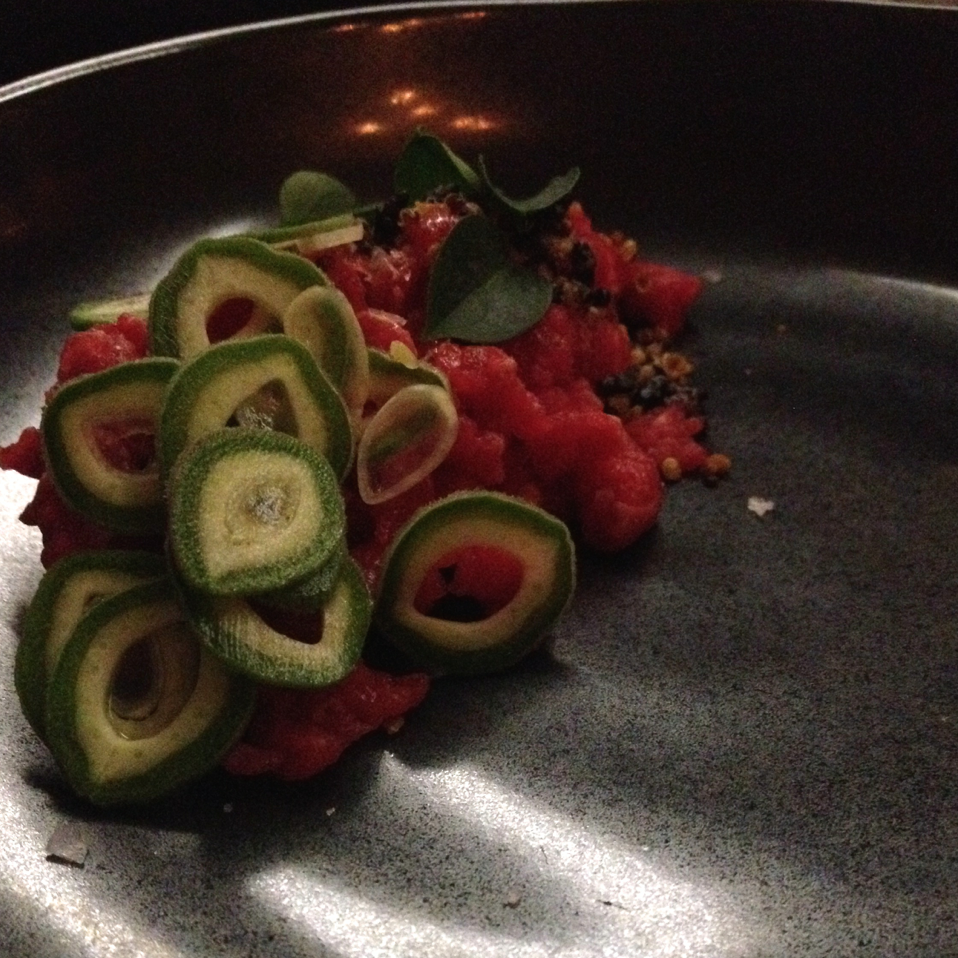 This ain't your mama's beef tartare - at the Catbird Seat in Nashville