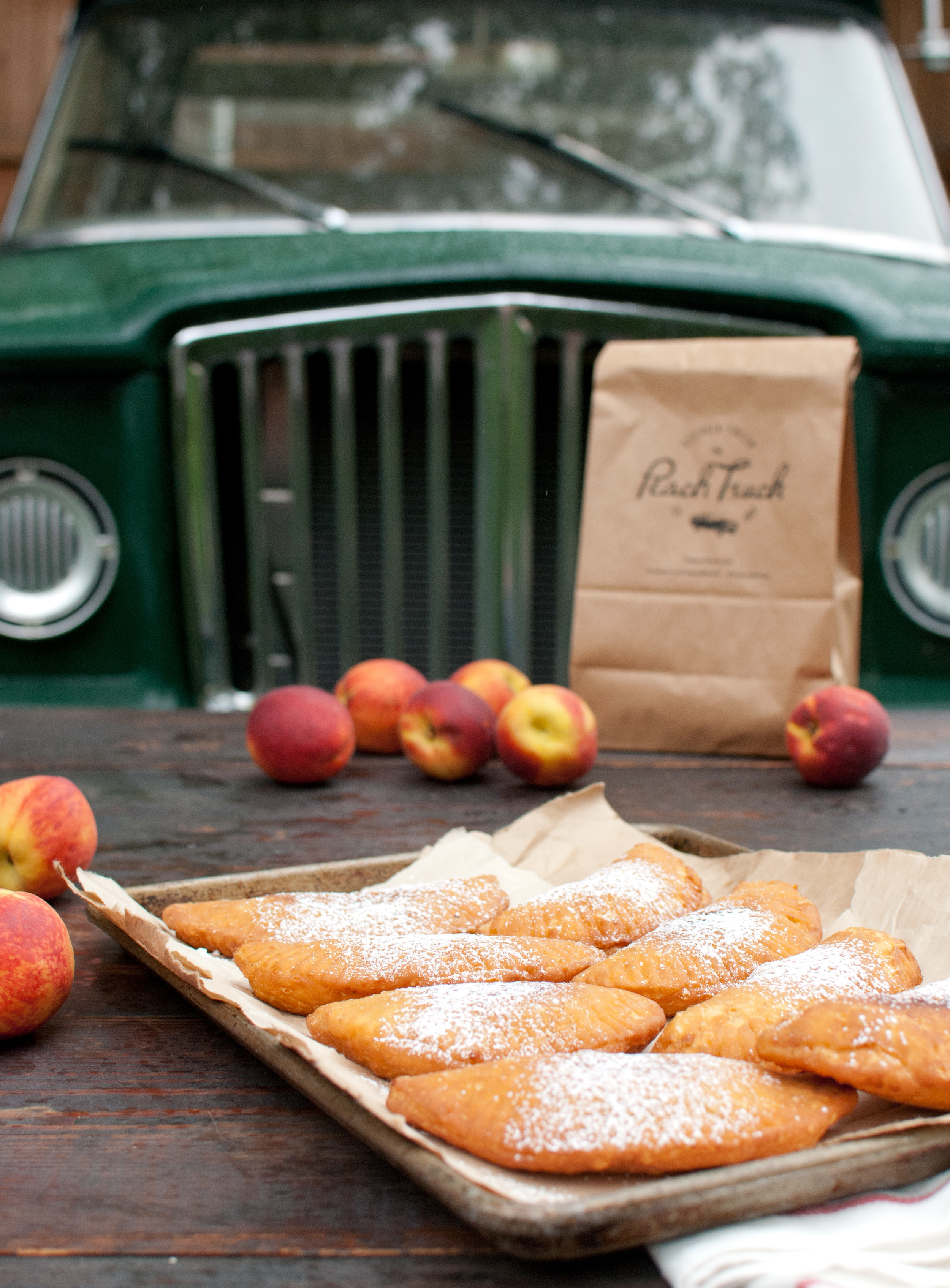 Food Sheriff | Recipe Development | Peach Fried Pies