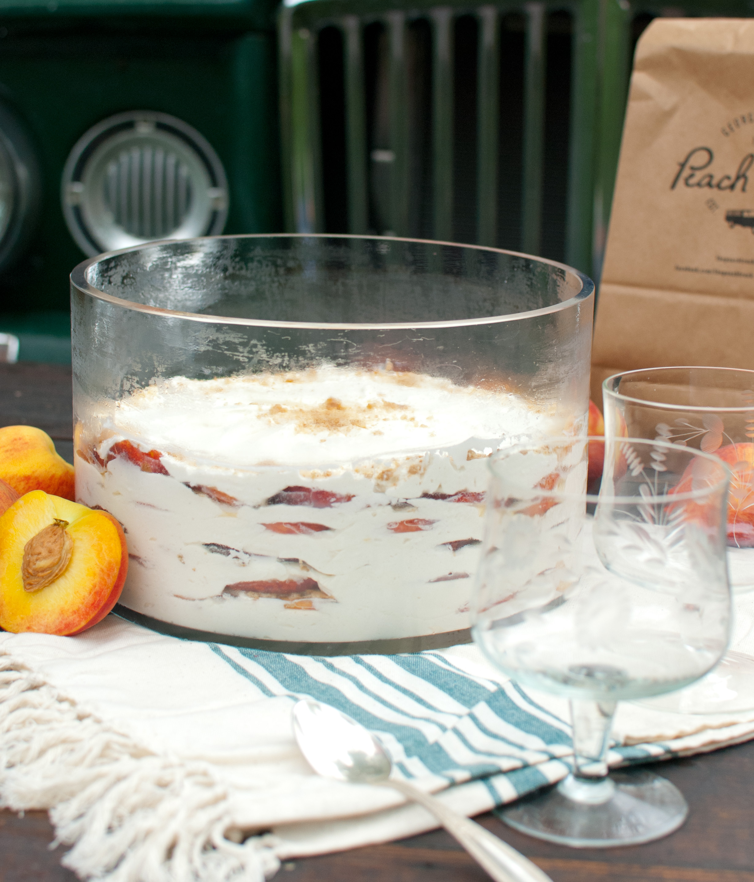 Food Sheriff | Recipe Development | Peach Icebox Cake