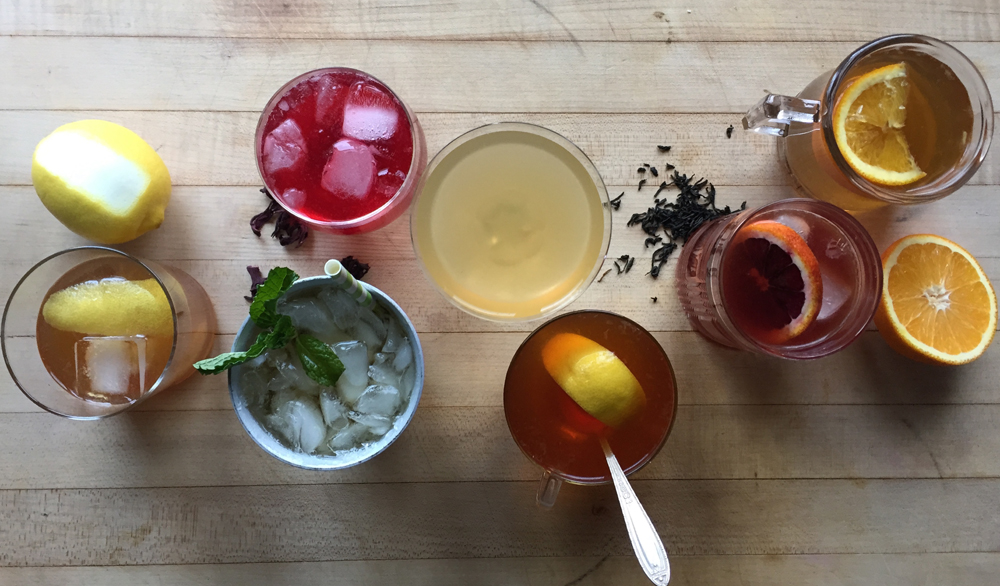 HOT & COLD TEA COCKTAILS