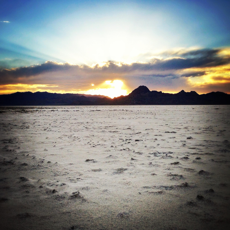 Bonneville Salt Flats,Tooele County, UT