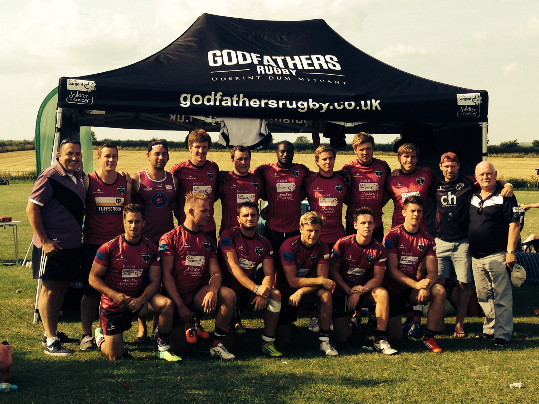 CLIC Sargent Godfathers at ND7s