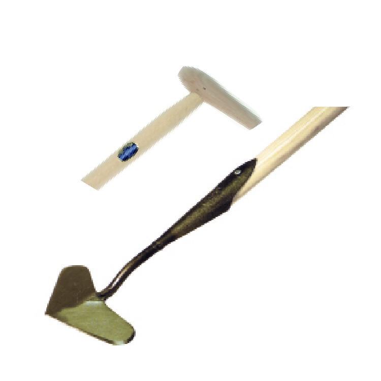 D25 DeWit Heart Shaped Push Hoe with P-Grip 72%22 Handle.jpg