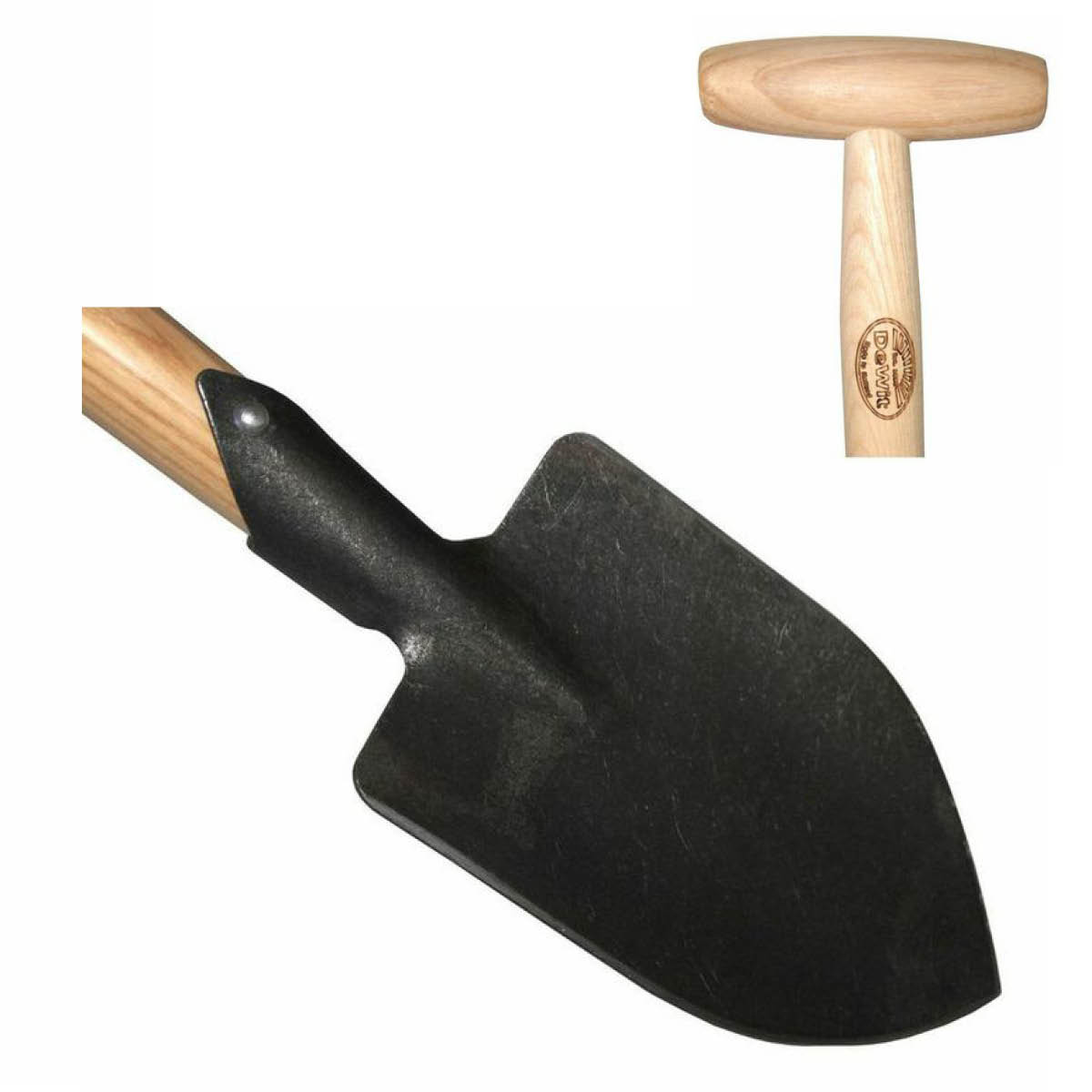 31-3172 Tierra Garden DeWit Junior Pointed Spade