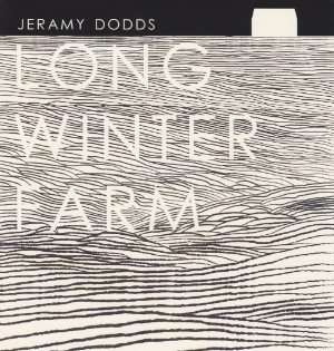 """Long Winter Farm  by Jeramy Dodds     Published November 2013 in an edition of 50 copies.  C-fold pamphlet, 5""""x5"""" (5""""x15"""" open).     Published by Odourless Press.      Price: $3.00 CAD"""