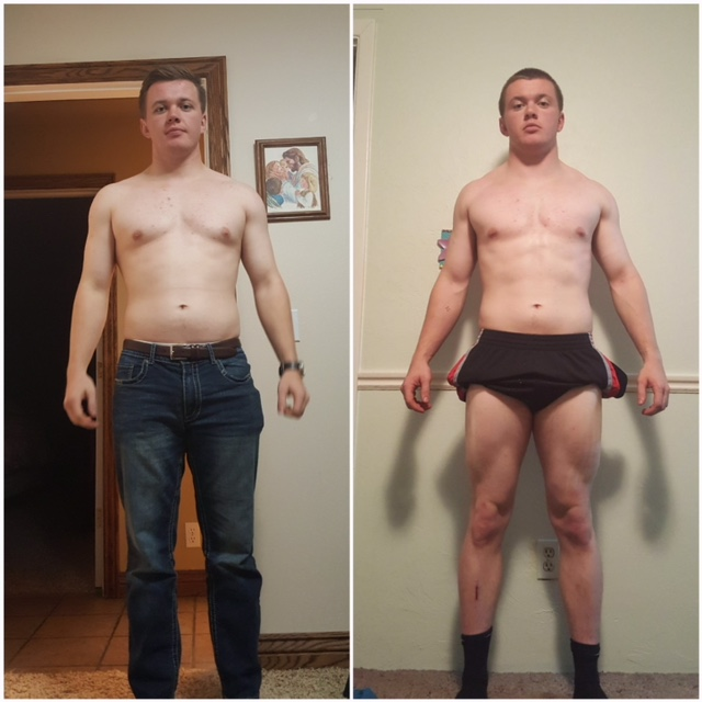 CrossFit Edifys gym member Jared's body transformation