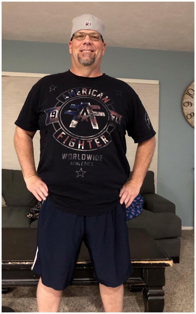 Weight Loss Winner Mr. Cammack- After Photo