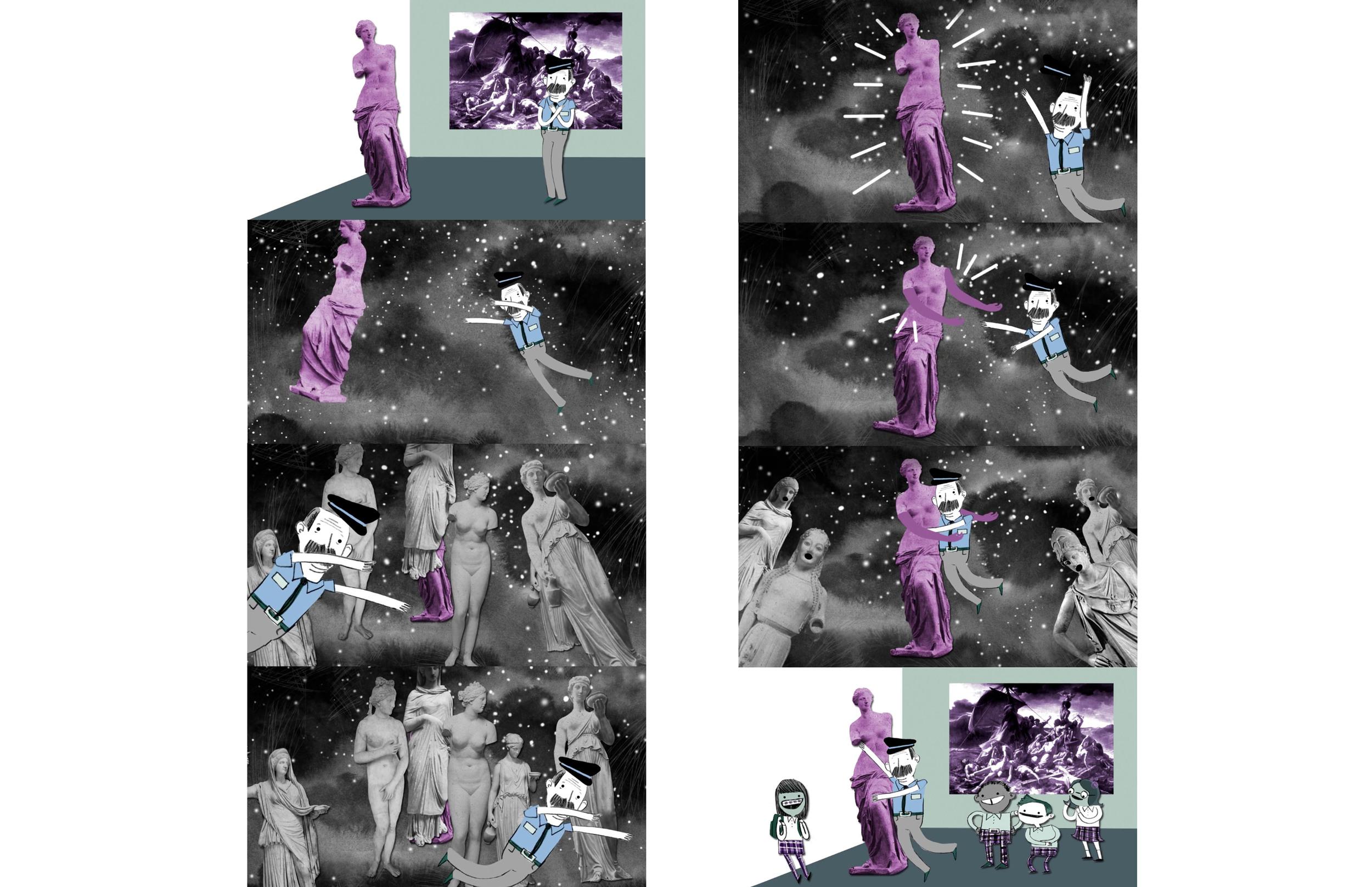 """Stills from """"The Venus"""""""