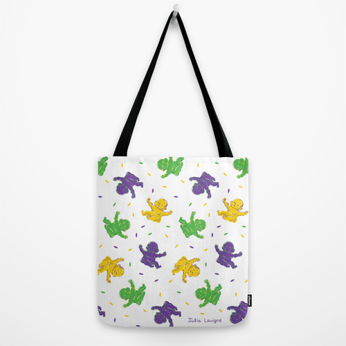 King Cake Baby Tote Bag