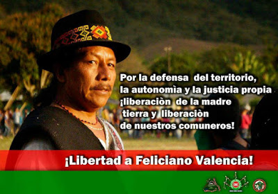 For the the defence of the territory, self determination and self governance !freedom to mother earth and to our people!