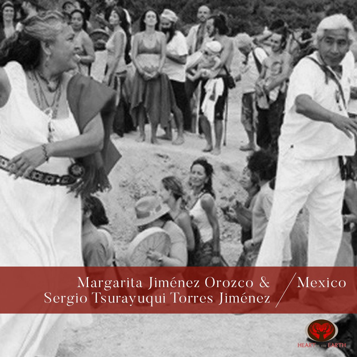 Margarita Jiménez Orozco Born in Santa Maria del Oro, Nayarit, wife of spiritual master Sergio Torres and mother of Sergio Tsurayuqui. Margarita began the path of the spiritual martial arts at 23 years old and the Red Road at 25, when legendary chief Raymundo Tigre Perez arrived in Nayarit, they formed a clan called Zicuri and Margarita immersed herself in the cultural and traditional teachings, becoming a Wirikuta pilgrim with Wixarika community Taimarita, led by Marakames Pablo Taizan y Lucia Lemus. Margarita is the co-founder of intertribal ceremonial center Tatepoxco in Tequepexpan Nayarit, which preserves and practices the ceremonies and traditions of our ancestors such as vision quest and temezcal and has kept the prayer and sacred fire of the Kiva for the past 14 years.  José Zamora Lizárraga Originally from Stone Island, Mazatlán Sin. Mexico. His beginnings on the red path are since his childhood, through plants and traditional medicine. He is fisherman of profession, father of two daughters, homelike person, kind with a beautiful simplicity. Wirikuta desert pilgrim with the community Wirrarika Yurata Nayarit. Temazcalero, visionary of the mountain and corridor of Peace and Dignity, comes from the fire of Raymundo Tigre Pérez in the community of Tatepoxco Nayarit. Active collaborator of the Kivas in England and Mexico.