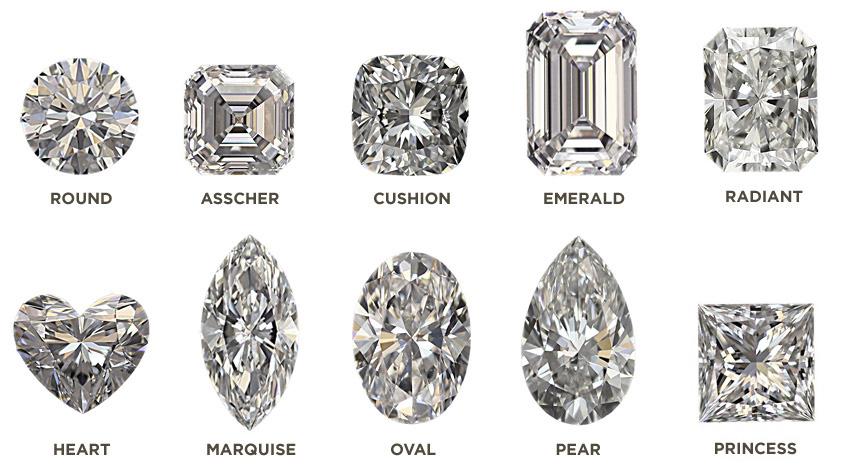 tipi diamante taglio