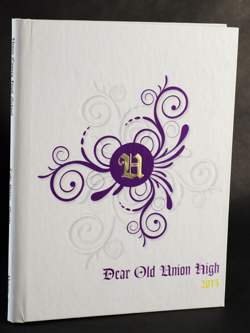 Matte Lamination Cover with Embossing and Foil Stamping