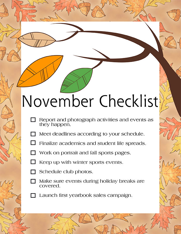 Download this checklist. (1 MB PDF)